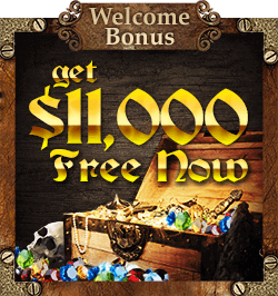 Get a Bonus on Your First 10 Deposits at Captain Jack Casino